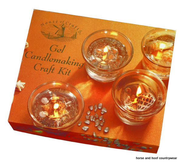 House Of Crafts Gel Candle Making Kit Instructions